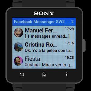 Facebook Messenger SmartWatch2