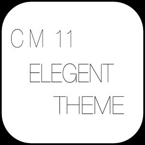 cm11 theme,aokp theme--ELEGENT theme