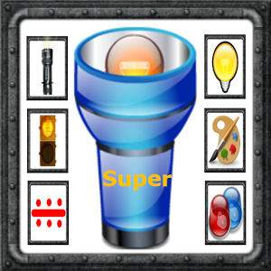 Super Flashlight Multifunction