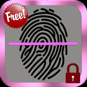 Fingerprint Screen Lock finger fingerprint screen