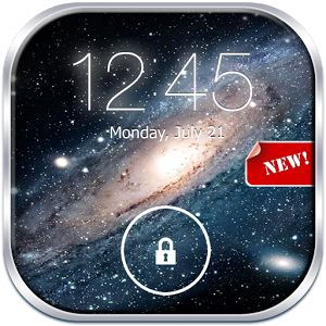 Galaxy Lock Screen Live
