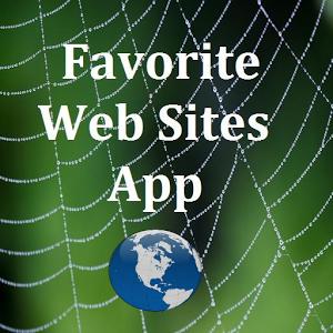 Favorite Web Sites App