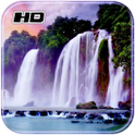 3D Waterfall HD Wallpaper