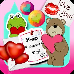 Sticker Pocket Love Valentine