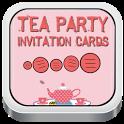 Tea Party Invitation Card free party invitation templates