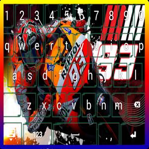 Marc Marquez Keyboard Themes