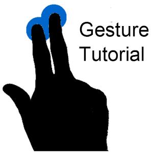 GestureTutorial Sample Project