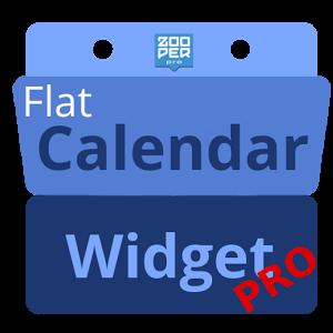 Flat Calendar Widget PRO