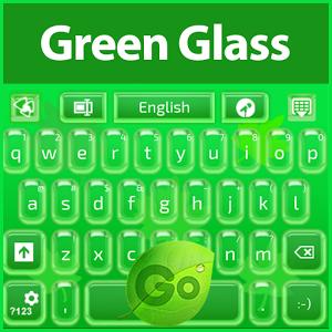 GO Keyboard Green Glass