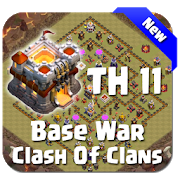 Maps COC TH 11 War Base