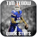 Tim Tebow Stats Widget