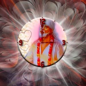 Sai Baba Clock Live Wallpaper