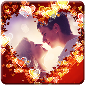 Love Photo Frame Collage