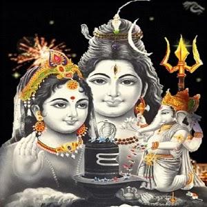 Lord Siva Ganesh Wallpaper V1
