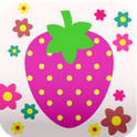 Cute! Strawberry Wall paper
