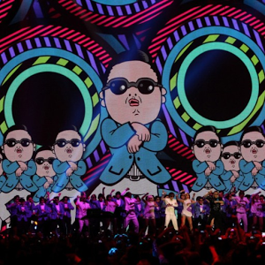 PSY background background