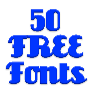 Fonts for Android 50 #1