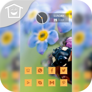 Lovely flowers theme