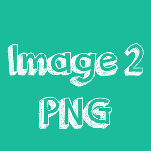 Image to PNG image