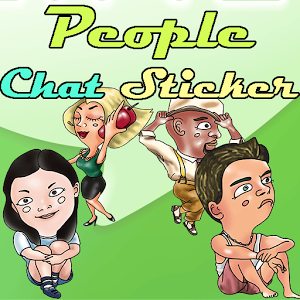 People Chat Sticker-LINE
