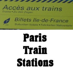 Paris Train Stations