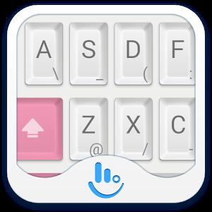 Mechanical Pink Keyboard Theme
