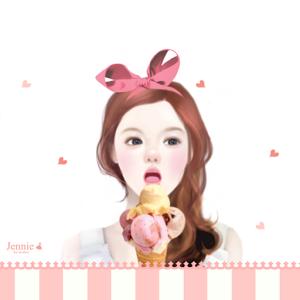 CUKI Theme Jennie`s ice cream