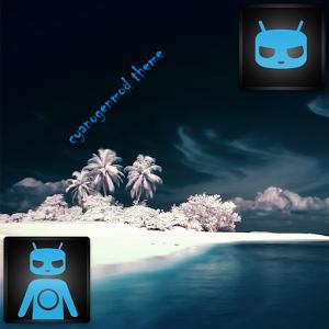 CM 10/10.1/ BLUE WAVE / Theme