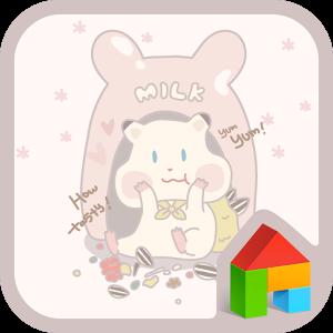 milk happy time dodol theme comic happy time