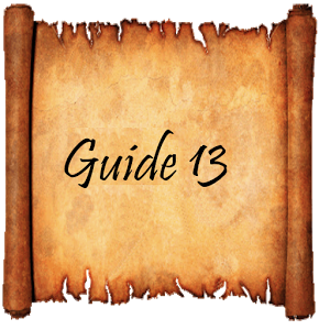 Guide of Toledo. Guide 13 guide map