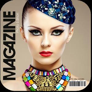 Magazine Photo Frame face magazine photo
