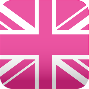 pink UnionJack wallpaper