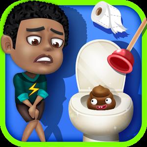 Toilet game for toilet time toilet