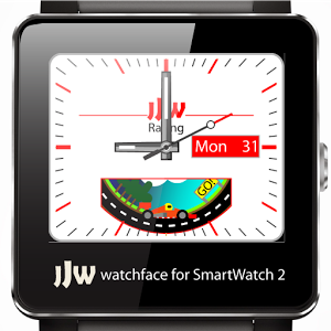 Animated RaceCar Watchface SW2