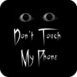 Do not touch my phone Live WP ghettoblaster live phone