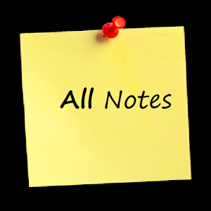 all notes Assalam-o-alaikum i wanted to share all the notes in a single topic i found so far so its the best place to begin with also posting some.