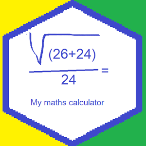 My maths calculator