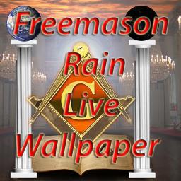 Freemason Rain Live Wallpaper