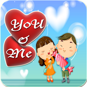 You & Me Stickers stickers