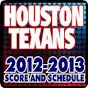 Houston Texans Schedule Score