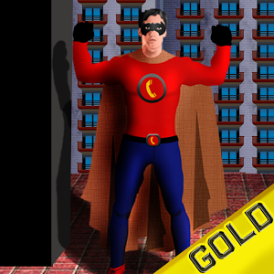 Wannabe Superhero Gold Edition