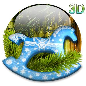 X-mas 3D live wallpaper