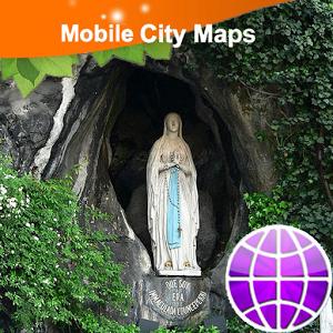 Tarbes, Lourdes Street Map